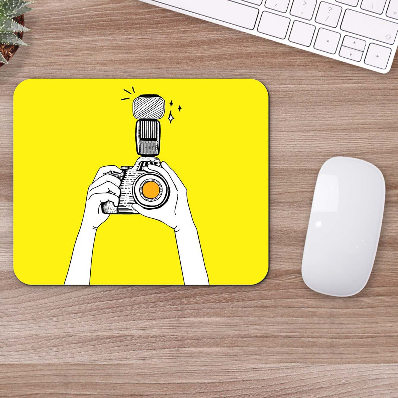 Buy Camera Click Abstract Mouse Pads Online