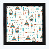 Animal Pattern Glass Framed Posters & Artprints