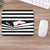 Pop Lady In Black Stripes Mouse Pad
