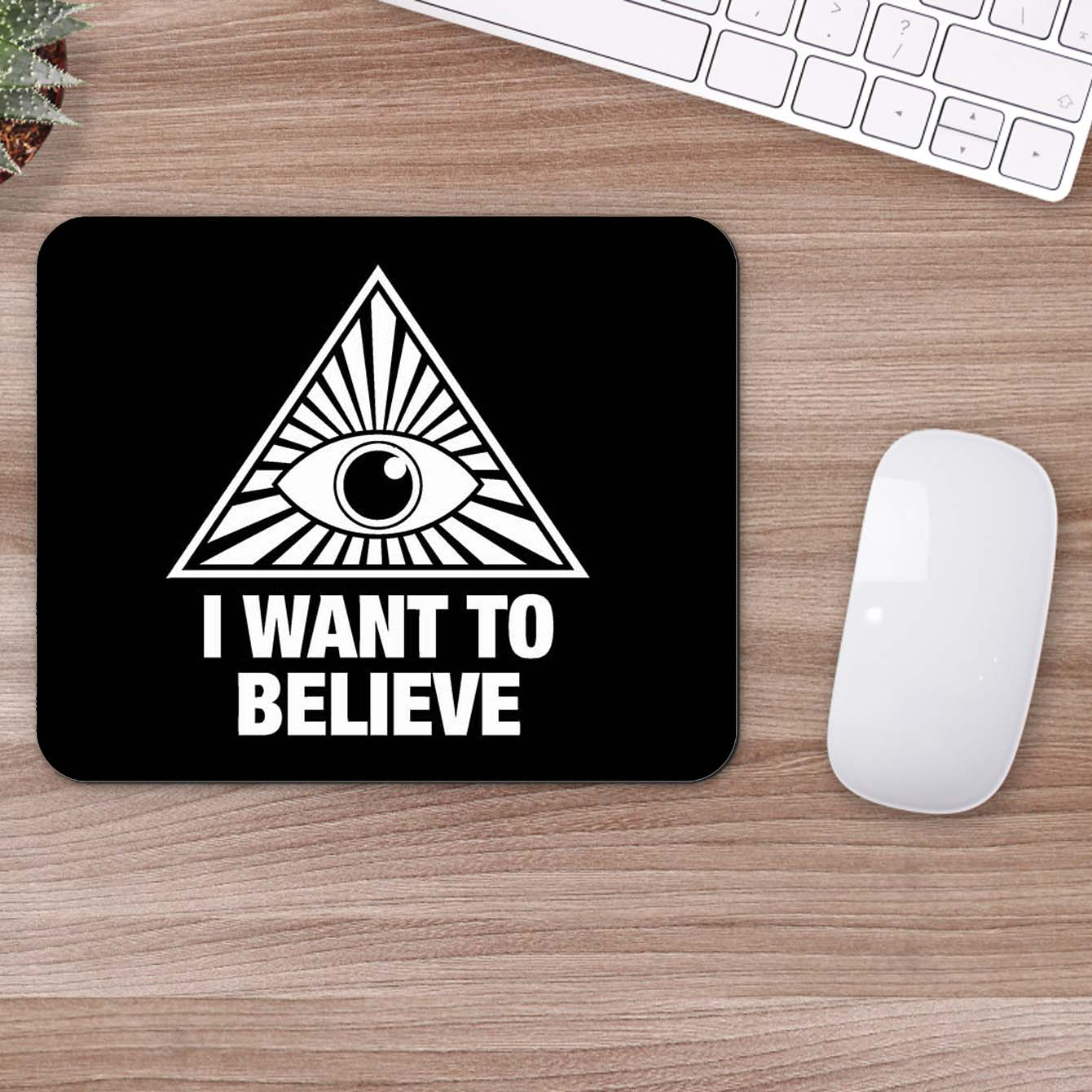 Buy I Want To Believed Pop Art Mouse Pads Online