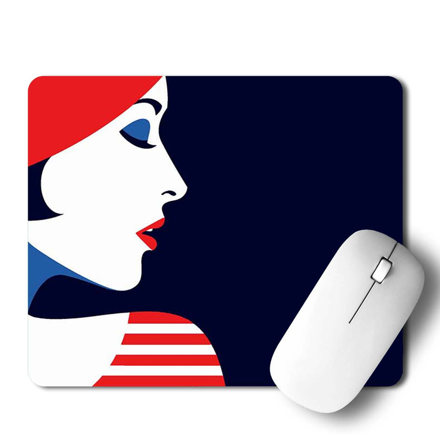 Lady Mouse Pad