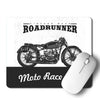 Bike Road Runner Mouse Pad