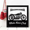 Bike Road Runner  Framed Poster