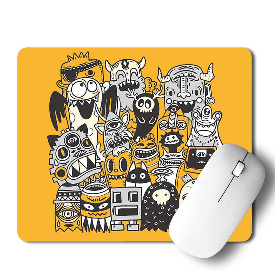 Monster Group Mouse Pad