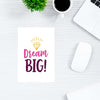 Dream Big Motivational Post Cards Online
