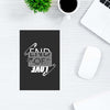 End of Love Typography Post Cards Online
