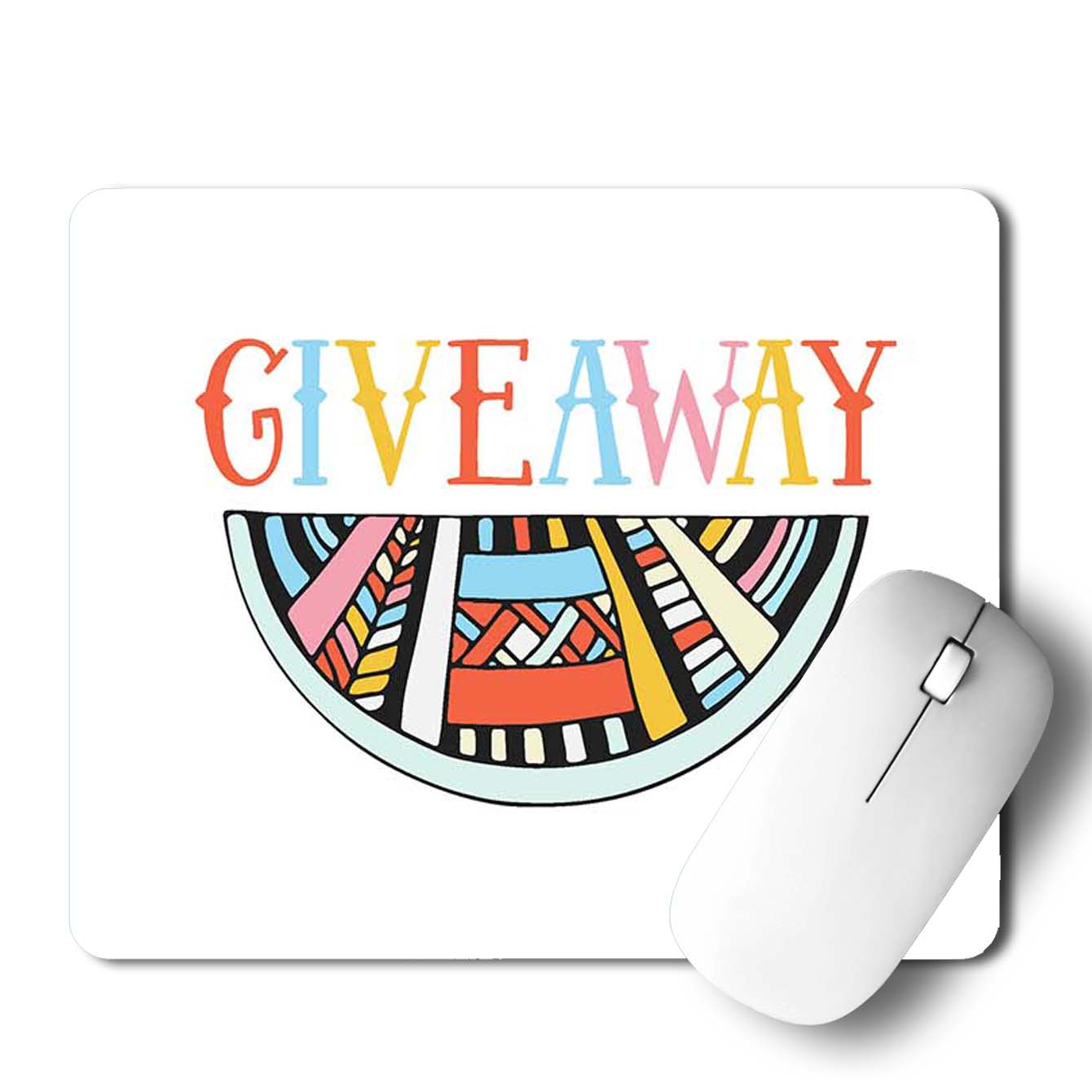 Buy Give Away Pop Art Mouse Pads Online
