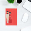 Indian Couple Abstract Post Cards Online