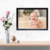 Laughing Baby Baby Glass Framed Posters & Artprints