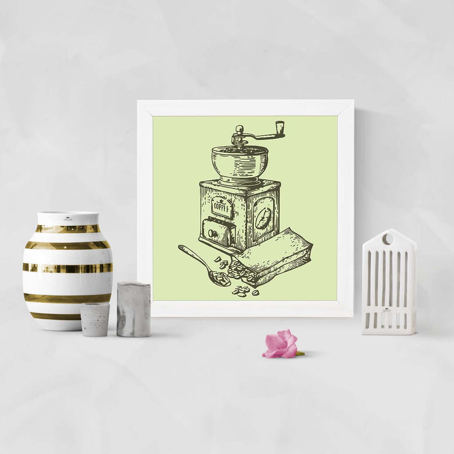 Coffee Grinder   Framed Poster