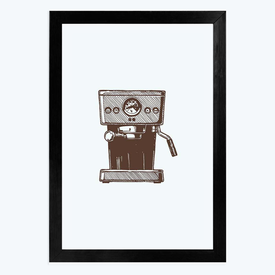 Coffee Maker   Framed Poster
