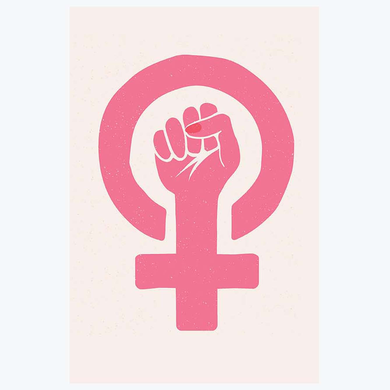 Woman Power Feminist Posters