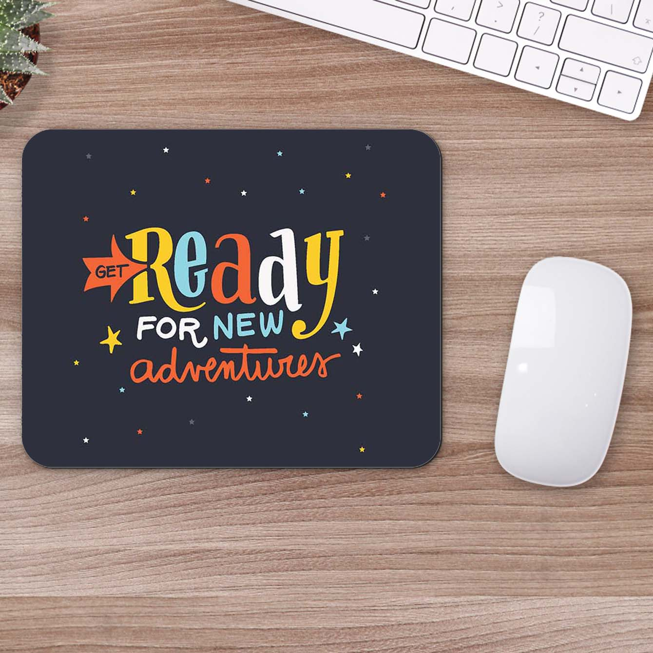 Buy Ready For New Adventure Travel Mouse Pads Online