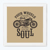 Bike Lover Bike Glass Framed Posters & Artprints