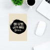 Do Less With More Focus Motivational Post Cards Online