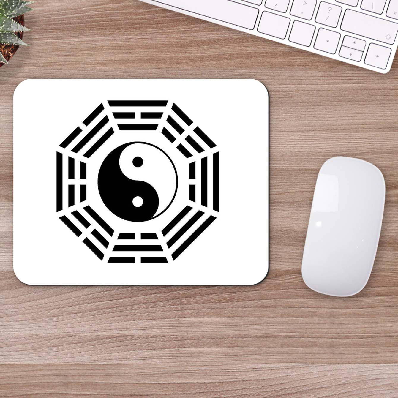Buy Ying Yang Sign Mouse Pads Online