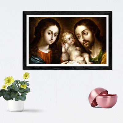 God Framed Painting