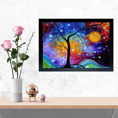 Colorful Framed Painting