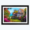 Scenario of House  Glass Framed Painting