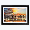 The Roman Colosseum Cities Glass Framed Painting