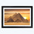 Egypt Pyramid Framed Painting