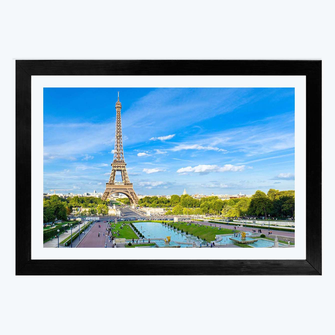 Eiffel Tower Framed Painting