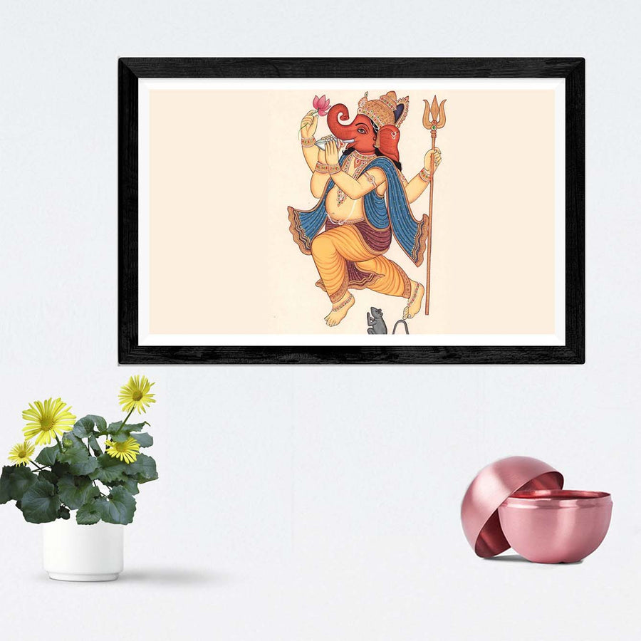 Lord Ganesha Framed Painting