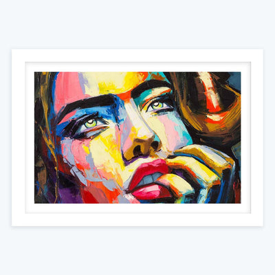 Women Framed Painting