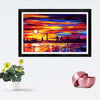 Colorful Oil Framed Painting