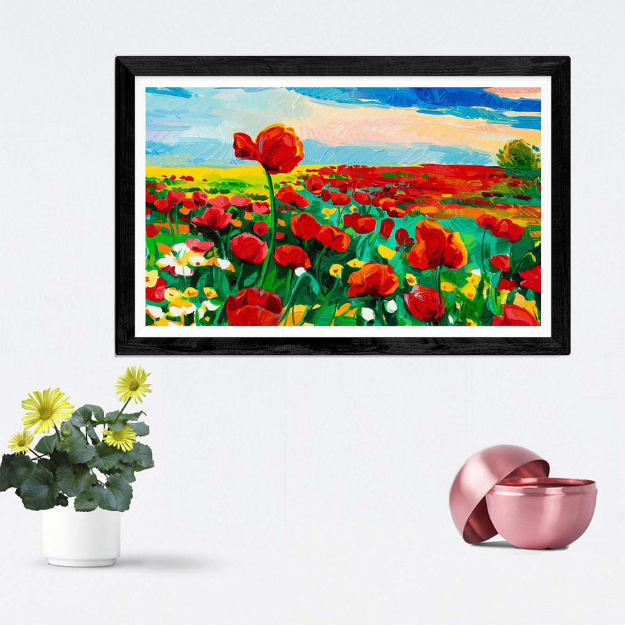 Flower Framed Painting