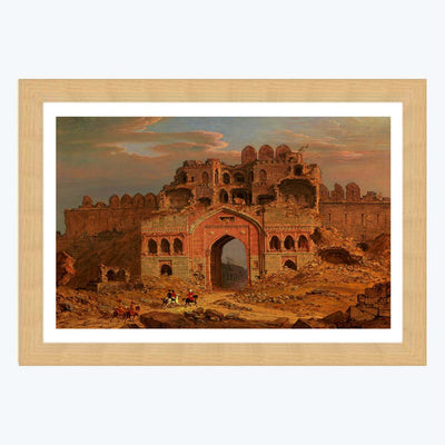 Old Palace Framed Painting