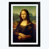 Monalisa  Glass Framed Painting