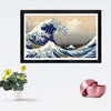 Great Wave Framed Painting