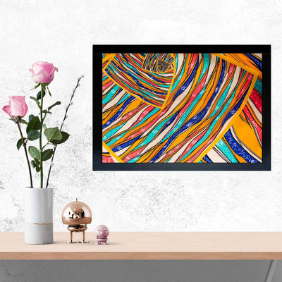 Fabric Framed Painting