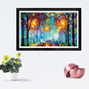 Colorful Road Framed Painting