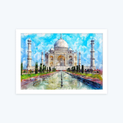 Taj mahal Framed Painting