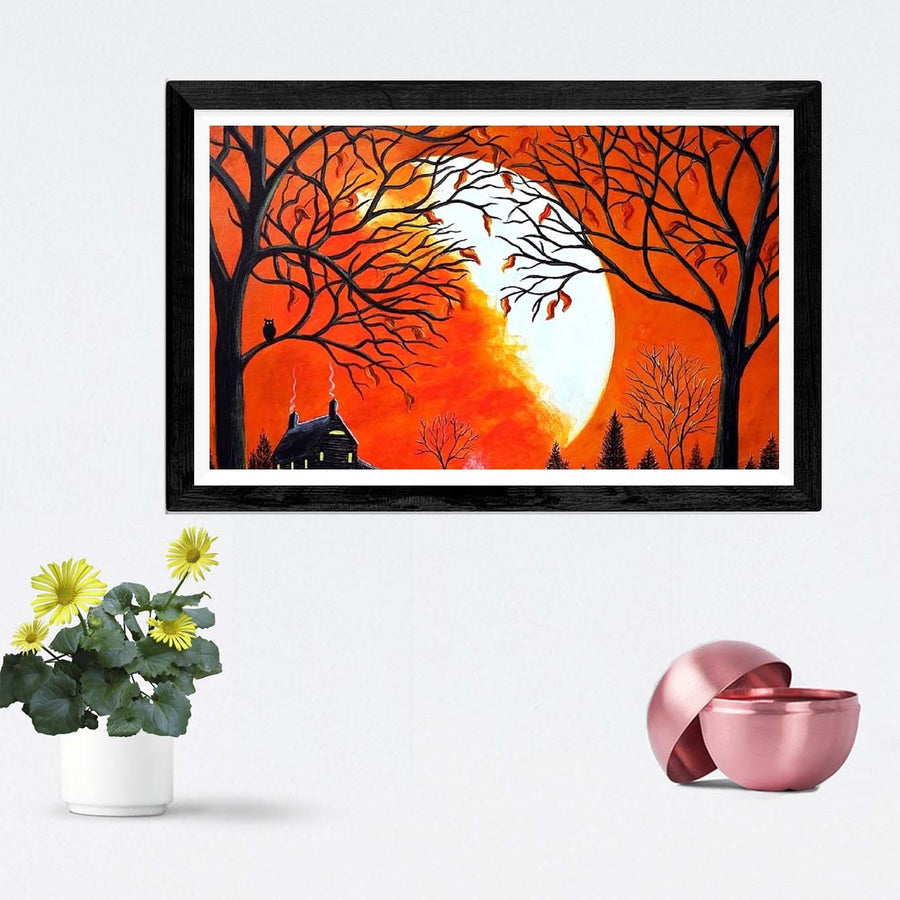 Sun Classic Framed Painting