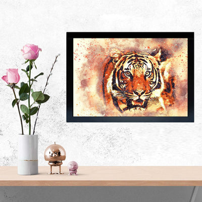 Lion Classic Framed Painting