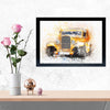 Classic Car Framed Painting
