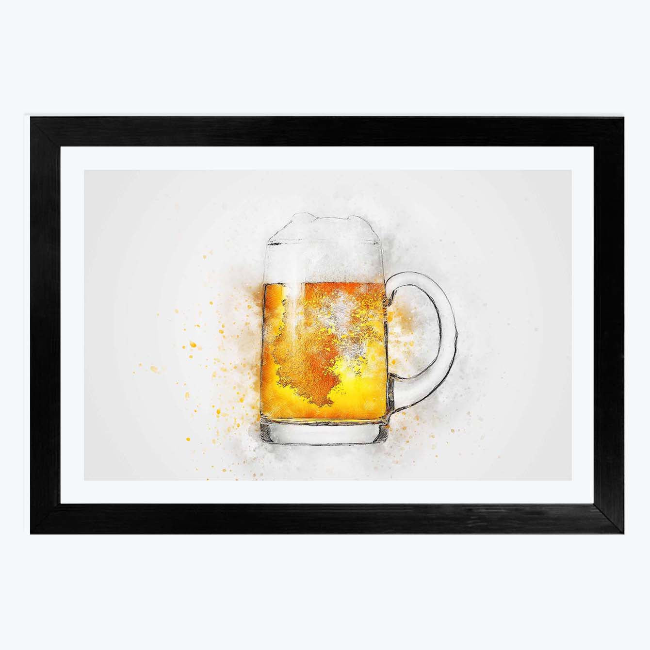Beer Framed Painting