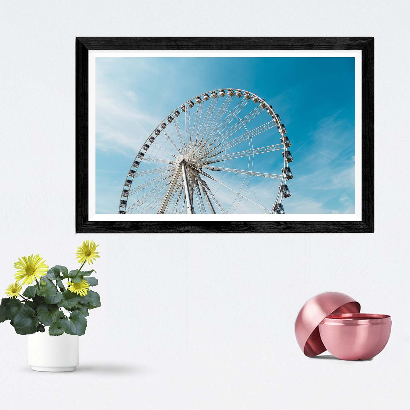 London Eyes Cities Framed Photography