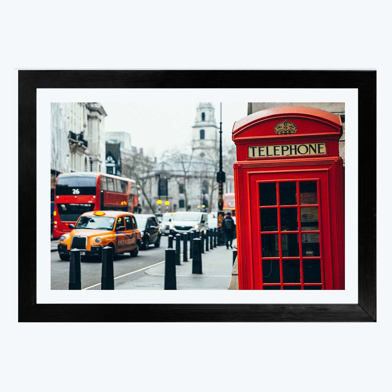 Telephone City Cities Framed Photography