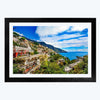 Sea View Travel Framed Photography