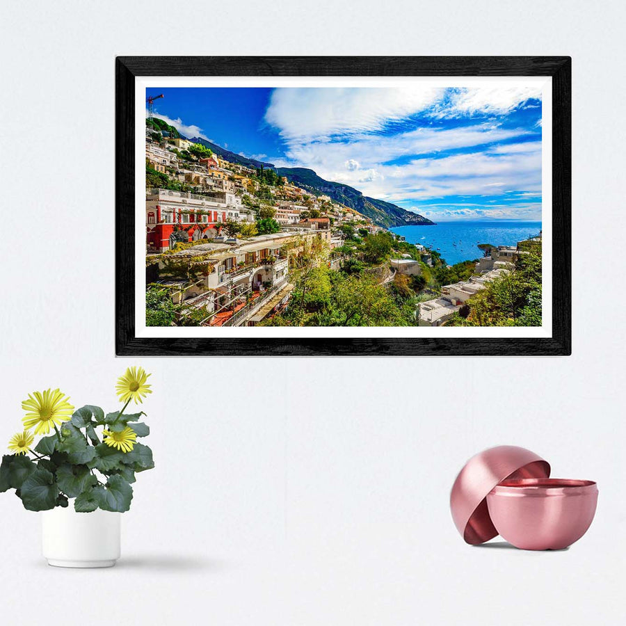Sea View Framed Photography