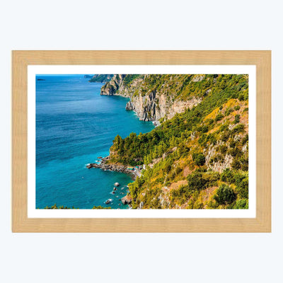 Lake side View Framed Photography