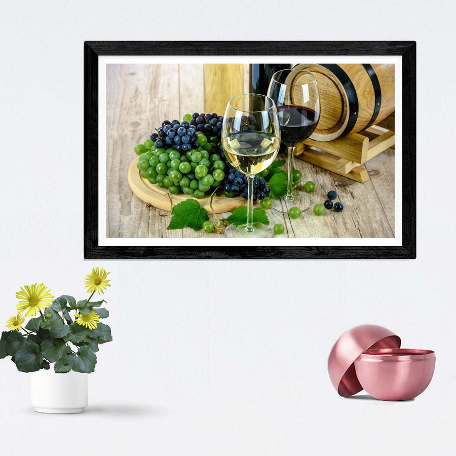 Wine Framed Photography