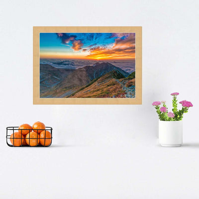 Sunset Framed Photography