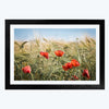 Wheat Farming  Framed Photography