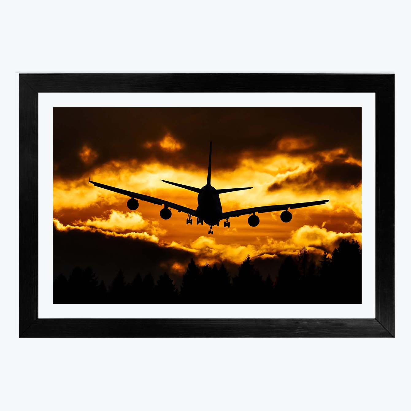 Aeroplan Framed Photography