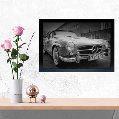 Mercedes vintage cars Framed Photography
